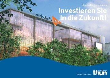 Wirtschaftspark Thun Schoren Dokumentation