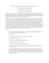 Law School White Paper - Concordia University
