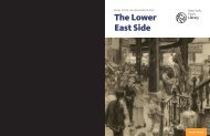 Neighborhood Guide: The Lower East Side - New York Public Library