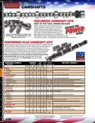 CAMSHAFTS - Performance V8