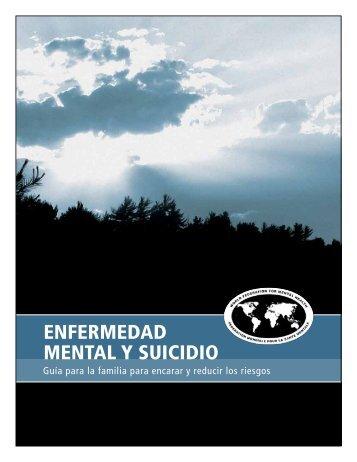Mental enferMedad Illness Mental and suIcIde y suIcIdIo