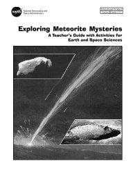 Exploring Meteorite Mysteries pdf - Virtual Astronaut