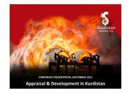 September 2012 - ShaMaran Petroleum Corp. - Home