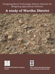 A study of Wardha District - M. S. Swaminathan Research Foundation