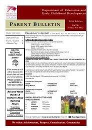 Bulletin 5 - Drouin Secondary College