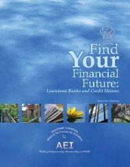 Find Your Financial Future: Louisiana Banks and Credit ... - Appleseed