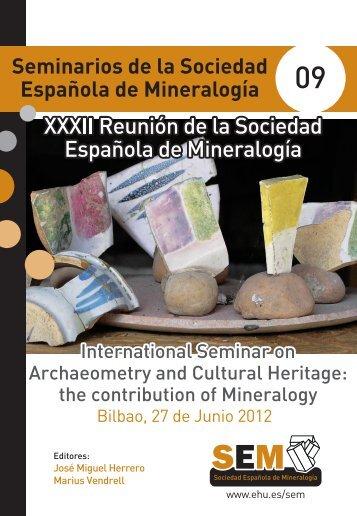 portada seminario_v9_OK - Sociedad Española de Mineralogía, SEM