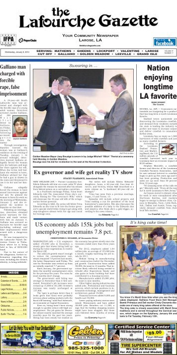 Nation enjoying longtime LA favorite - The Lafourche Gazette