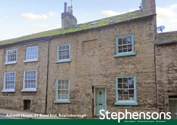 Ashwell House, 57 Bond End, Knaresborough - Vebra