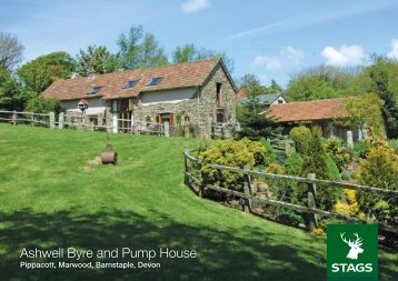 Ashwell Byre and Pump House - Stags Estate Agents