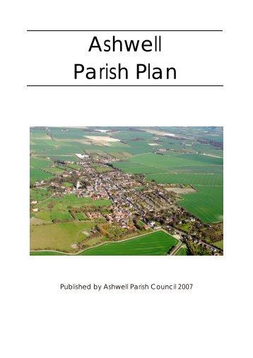 Ashwell Parish Plan - Ashwell, Hertfordshire
