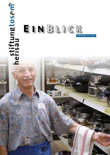 B LICK E I N - Stiftung Tosam