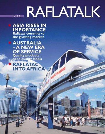 ASIA RISES IN IMPORTANCE AUSTRALIA – A NEW ... - UPM Raflatac