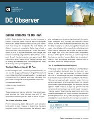 DC Observer - Ulrich Consulting Group, LLC