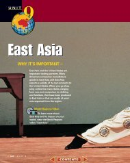 Chapter 26: The Physical Geography of East Asia