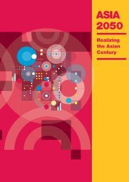 Asia 2050: Realizing the Asian Century - Unido