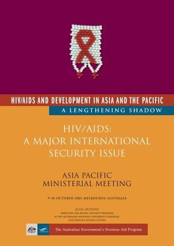 HIV/AIDS - A Major International Security Issue - hivpolicy.org