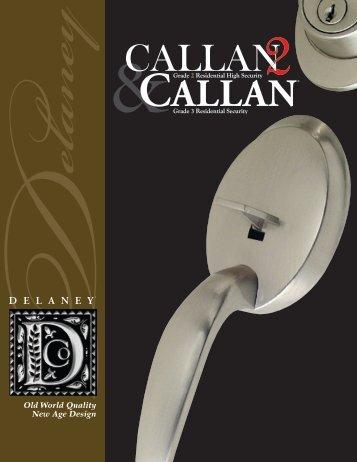 Delaney Callan Catalog - Bolyard Lumber