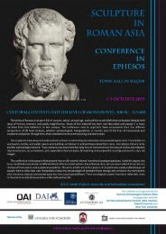 """Conference """"Sculpture in Roman Asia"""
