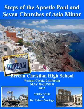Steps of the Apostle Paul and Seven Churches of Asia Minor