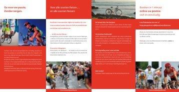 Bekijk hier de folder (PDF-formaat). - Cycles Emrin