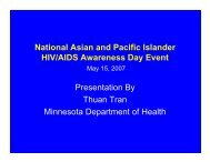 National Asian and Pacific Islander HIV/AIDS Awareness Day Event ...