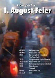 1. August-Feier - Thun