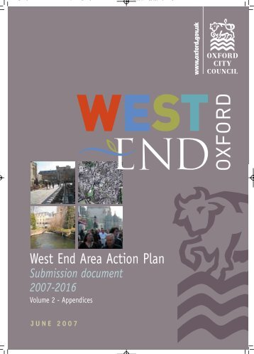 West End AAP volume 2 - Oxford City Council