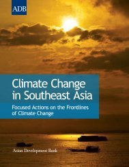 Climate Change in Southeast Asia - Asia Pacific Migration and ...