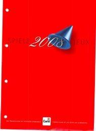 Carlit Schweizer Spiele Katalog 2008
