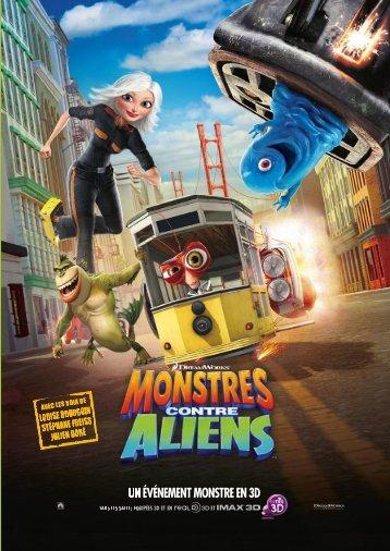 Monstres contre Aliens - dossier descriptif - La Ferme du Buisson