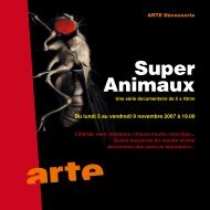 Super Animaux - Source - Arte