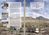 2 Objetivos del área natural protegida - Instituto Nacional de Ecología