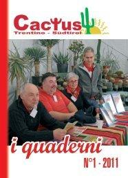 Libretto 2011.indd - Cactus Trentino Südtirol