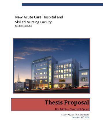 tamu thesis proposal