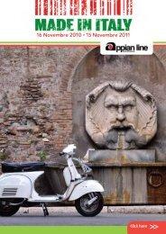 16 Novembre 2010 • 15 Novembre 2011 - Appian Line