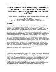 (Pliensbachian) Lupherella abundance zone, Hurwal Formation