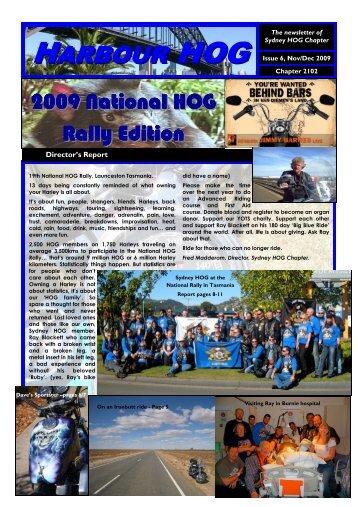 HOG newsletter nov dec 09 - Sydney HOG Chapter