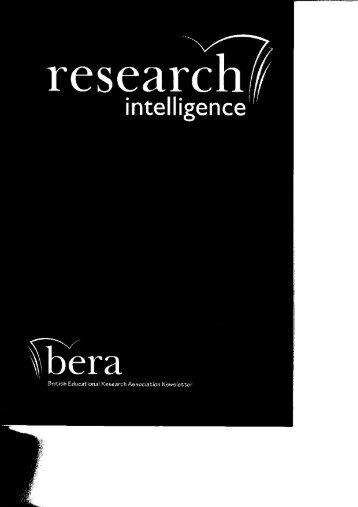 PDF (2.29 MB) - British Educational Research Association
