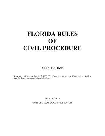 Mississippi Rules Of Civil Procedure >> OHIO RULES OF CIVIL PROCEDURE TITLE I ... - Clerk of Courts