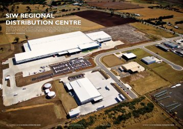 siw regional distribution centre - Australian National Construction ...