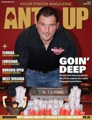 GOIN' DEEP - Ante Up Magazine
