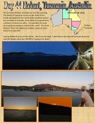 Day 44 Hobart, Tasmania, Australia - Kween Karen