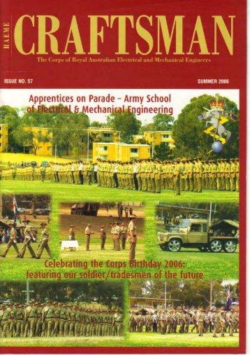Full page photo print - RAEME Association WA