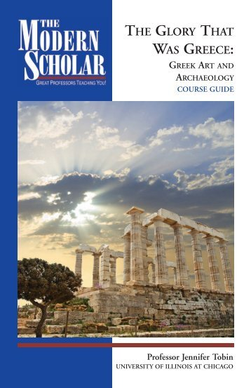 Glory That Was Greece: Greek Art and Archaeology - Recorded Books