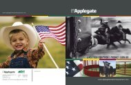 LIVESTOCK EQUIPMENT PRODUCT CATALOG - Applegate