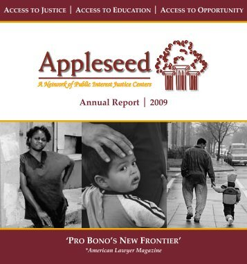 Appleseed Annual Report 2009 16pg.pub