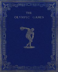 1896 Olympic Games Official Report part one - LA84 Foundation