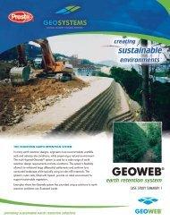 Geoweb Earth Retention System Case