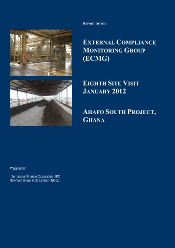 Independent External Compliance Monitoring Report, January 2012